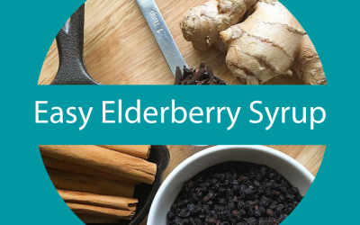 Easy Elderberry Syrup