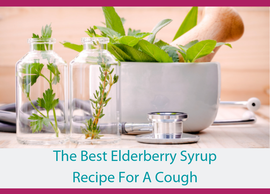 Elderberry Syrup Recipe for a Cough