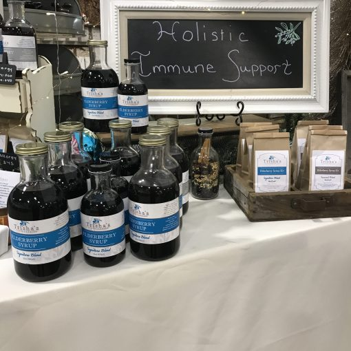 Family and Single Sizes of Elderberry Syrup + DIY Kits