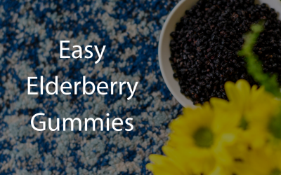Step by Step: How to Make Elderberry Syrup Gummies