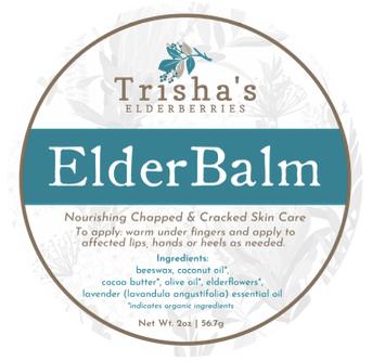 ElderBalm (Elderflower Balm / Salve)